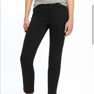 Old Navy Mid-Rise Pixie Ankle Chinos